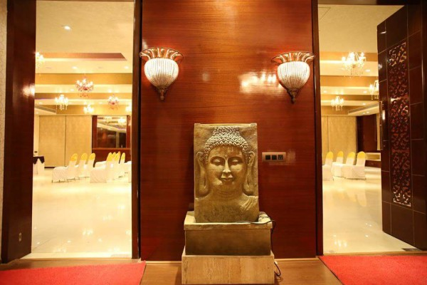 entrance of banquet hall