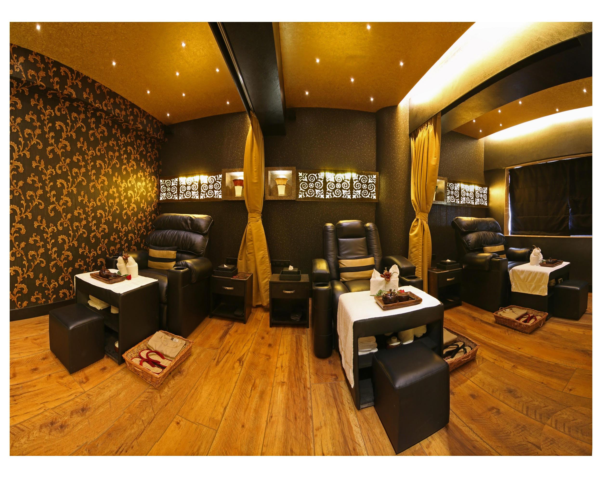 Recliner digital spa design mumbai ishita joshiishita joshi for Salons in mumbai