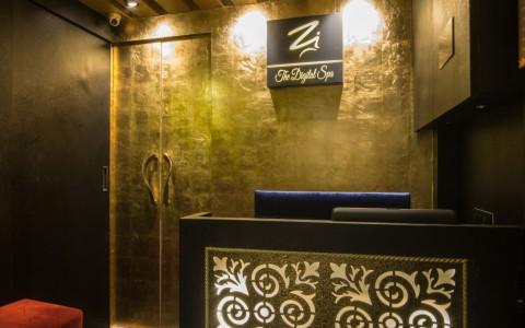 reception digital spa design mumbai