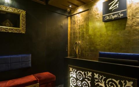 Waiting area and Reception digital spa design mumbai