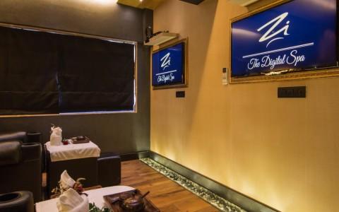 spa area at digital spa design mumbai